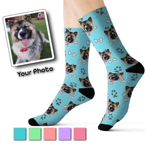 Custom Pet Socks - Puppy Theme