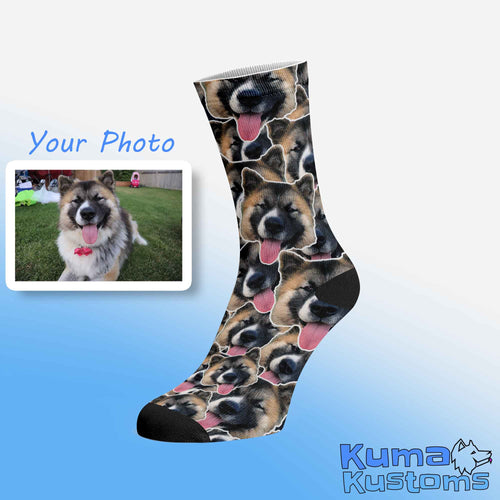 Custom Socks - Face Mashup
