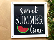 Load image into Gallery viewer, Sweet Summer Time Wooden Sign