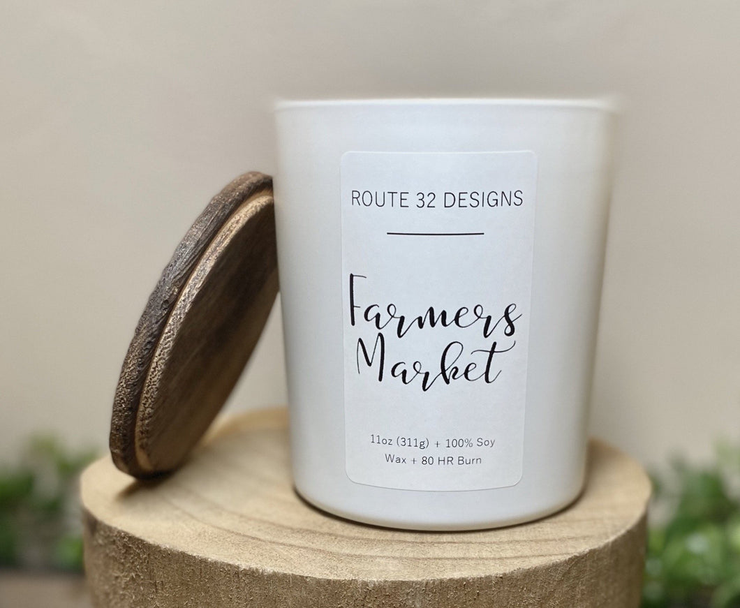 Farmers Market Soy Candle