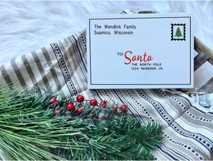 Letter To Santa Shelf Sitter