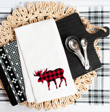 Load image into Gallery viewer, Buffalo Plaid Woodland Animals