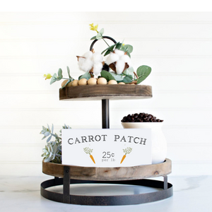 Carrot Patch Shelf Sitter
