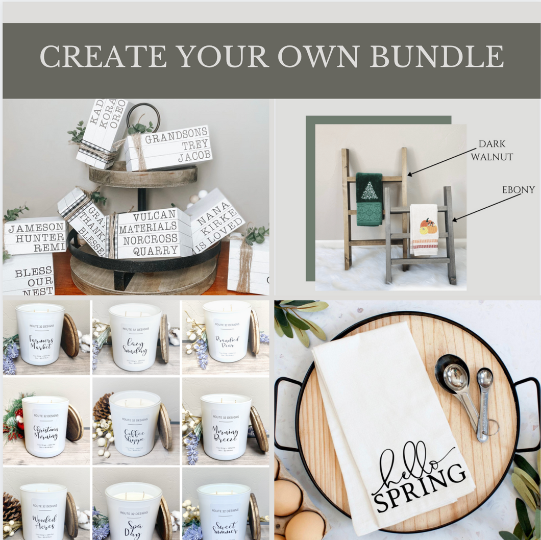 3 Item Gift Bundle  (With Tea Towel Ladder Add-On Option)