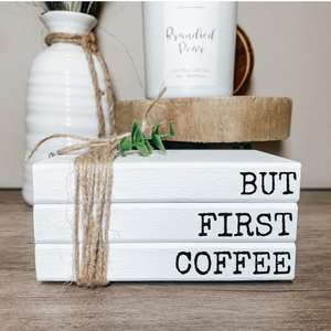 But First Coffee Stamped Book Set