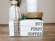 Load image into Gallery viewer, But First Coffee Stamped Book Set