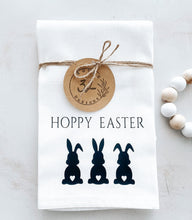 Load image into Gallery viewer, Hoppy Easter Tea Towel