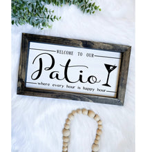 Load image into Gallery viewer, Happy Hour Patio Sign