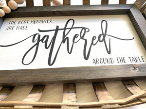 The Best Memories Are Made Wooden Sign