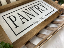 Load image into Gallery viewer, Pantry Wooden Sign