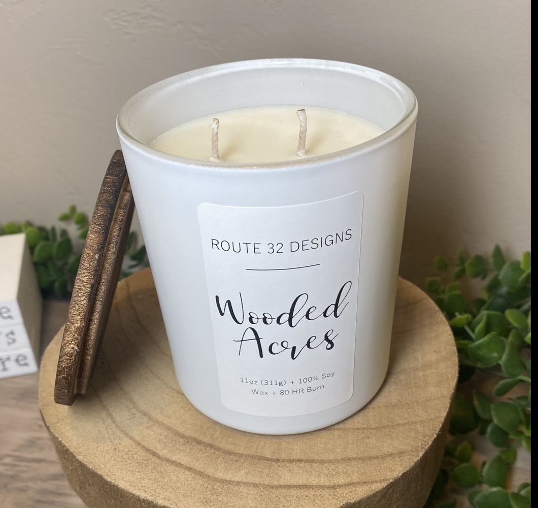 Wooded Acres Soy Candle