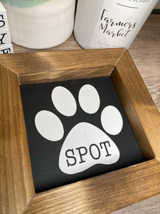 Personalized Pet Name Sign