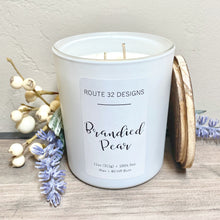 Load image into Gallery viewer, Brandied Pear Soy Candle