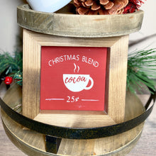 Load image into Gallery viewer, Christmas Blend Sign