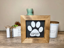 Load image into Gallery viewer, Personalized Pet Name Sign