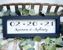 Load image into Gallery viewer, Save The Date Engagement Sign