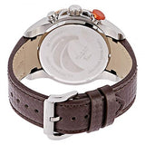 Blade Men's Brown Dial Rose Gold Bezel Brown Leather Strap Chronograph Watch 3508GSS-TOO 3
