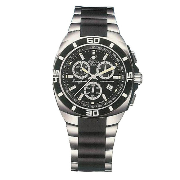 Enicar Swiss Made Men's Chronograph Watch - 3168-50-318aCBB