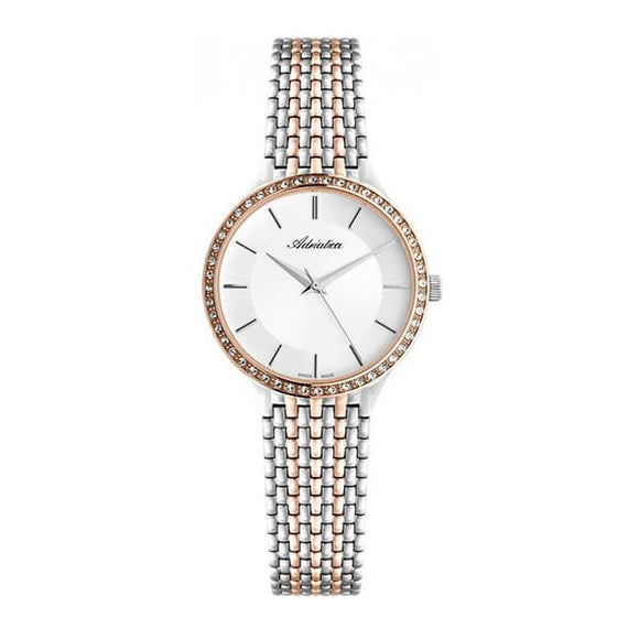 Adriatica Swiss Made Womens Stainless Steel Watch - 3176.R113QZ