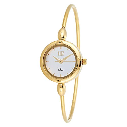 ELIZ Women's Gold Plated Casual Watch - ES25-8400L-GW 1