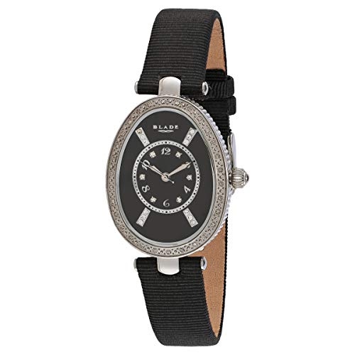 Blade Women's Black Mother of Pearl Dial Black Leather Strap Watch 2731L-SNN 1