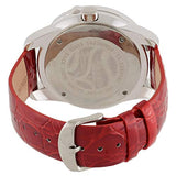 Blade Women's Red Genuine Leather Stainless Steel Back Analog Watch 15-3260L-SR 3