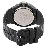 Bart & Melon Unisex Black Dial Black Polycarbonate Analog Watch 11-NU005-NNN 3