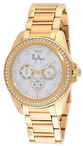 Blade Women's White Mother of Pearl Dial Gold Stainless Steel Watch 25-3381LSS GW 1