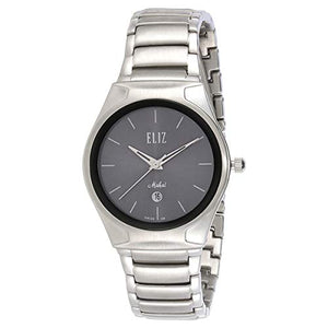Eliz Women's Grey Dial Stainless Steel Analog Watch ES15-8024L SN 1