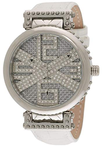BLADE Men's Grey Dial Croco Design Leather Watch - 10-3251G-SSW 1