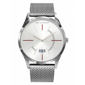 Ted Lapidus Men's Silver Dial Stainless Steel Watch - 5132301