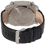 Blade Men's Multi Time Black Dial Leather Strap Watch 10-3178G-SNNw 3