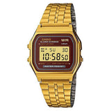 Casio Gold Plated LED Illuminator Watch A159WGEA-5D