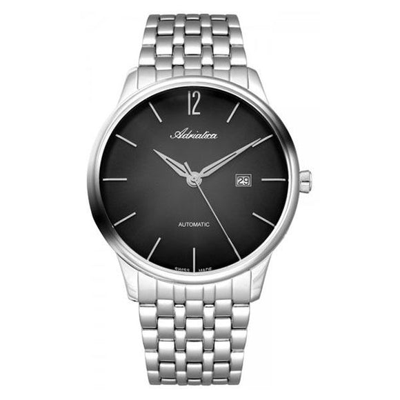 Adriatica Swiss-Made Mens Stainless Steel  Watch - A8269.5154A
