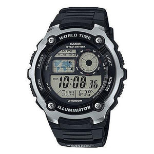 Casio World Time Illuminator Digital Watch - AE-2100W-1A