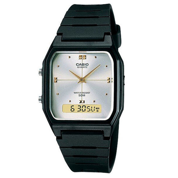 Casio AW-48HE-7A Resin Case And Band Resin Glass Quartz Movement Watch