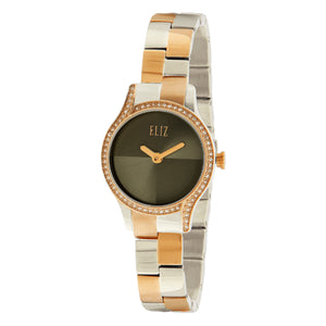 Eliz Women's PVD Rose Gold Plated Stainless Steel Watch ES15-8500L UGU