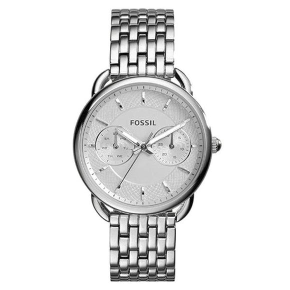 Fossil Women's Silver Dial Stainless Steel Analog Watch - ES3712 1