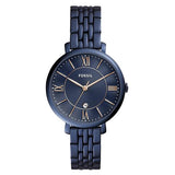 Fossil Women's Blue Plated Stainless Steel Analog Watch - ES4094 1