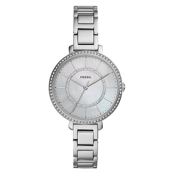 Fossil Womens Mother of Pearl Dial Stainless Steel Analog Watch ES4451 1