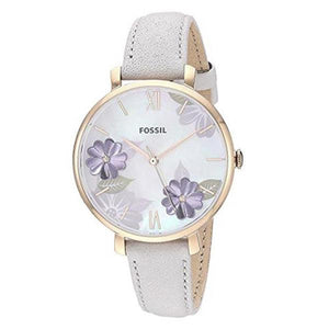 Fossil Women's Mother of Pearl Dial Analog Watch - ES4672
