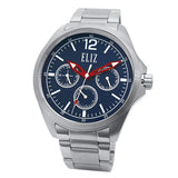 Eliz Men's Stainless Steel Multi-function Watch ES8679G2SBS 1