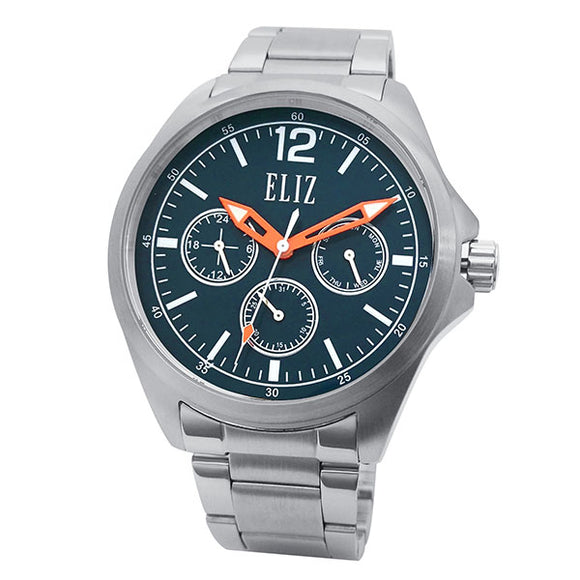 Eliz Men's Stainless Steel Multi-function Watch ES8679G2SIS 1