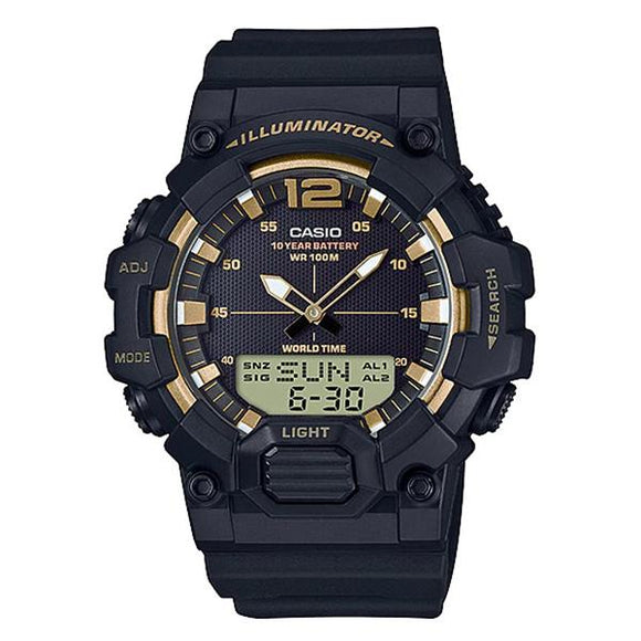 Casio Illuminator Analog Digital Watch - HDC-700-9A