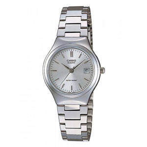 CASIO Women's Silver Dial Stainless Steel Band Analog Watch LTP-1170A-7A