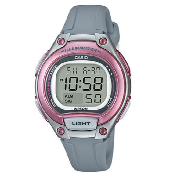Casio Illuminator Digital Display Watch - LW-203-8A