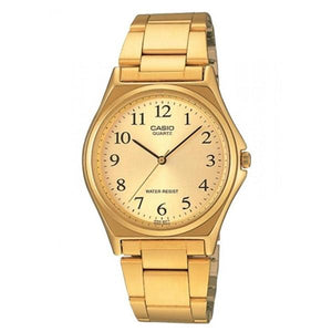 Casio Gold Dial Gold Plated Analog Watch MTP-1130N-9B