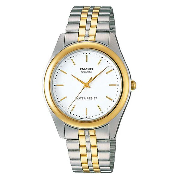 Casio Men's Gold Plated Stainless Steel Watch - MTP1129G-7A