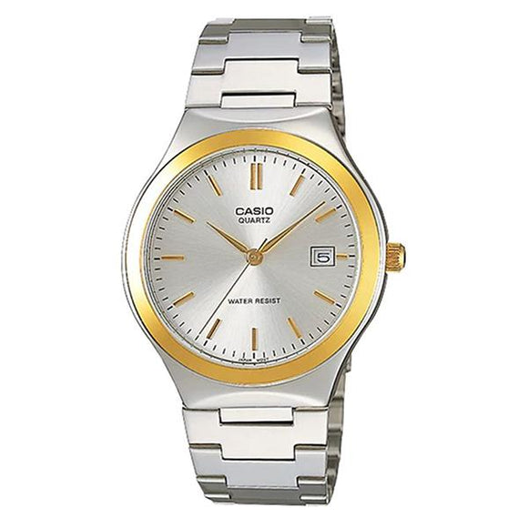 CASIO Men's Silver Dial Stainless Steel Band Analog Watch MTP1170G-7A