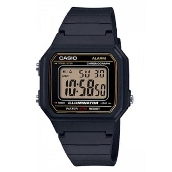 Casio Illuminator Digital Display Watch - W-217H-9A